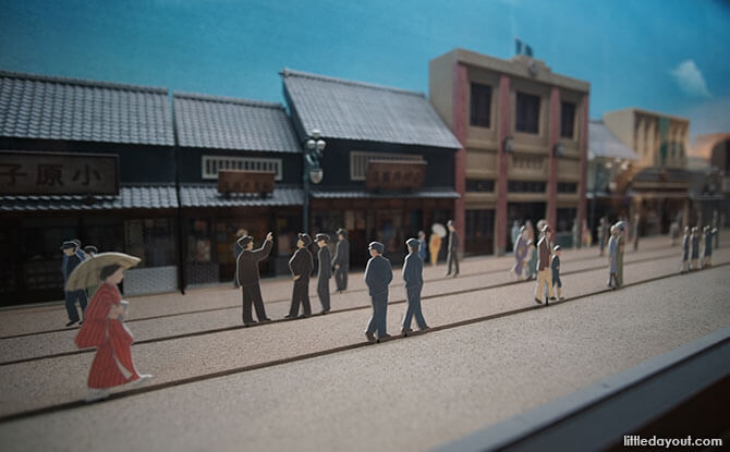 Models at the Osaka Museum of Housing and Living