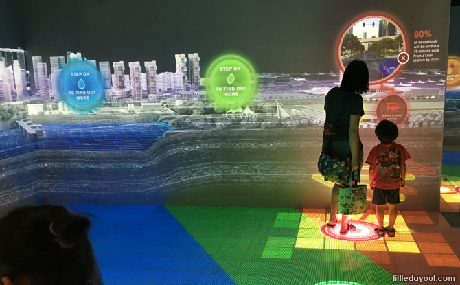 Singapore City Gallery: Uncovering What Goes Into City Planning Through Interactive Exhibits & Models