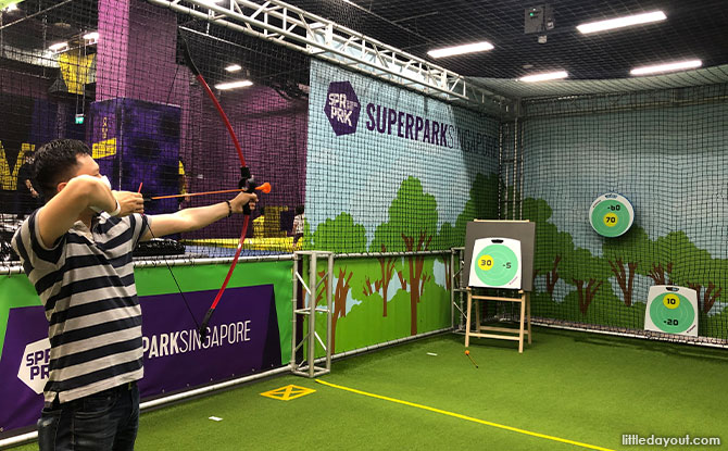 Archery at Superpark