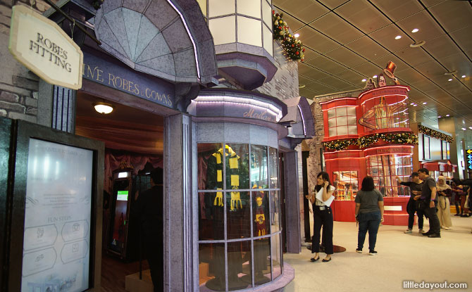 Diagon Alley Activity Area at Changi Airprort T3