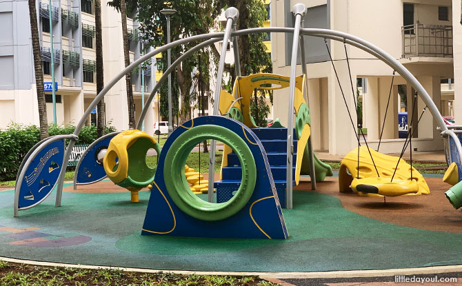 HDB Playground near Vista Park