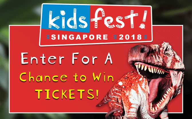 Dinosaur Zoo Ticket Giveaway - KidsFest 2018