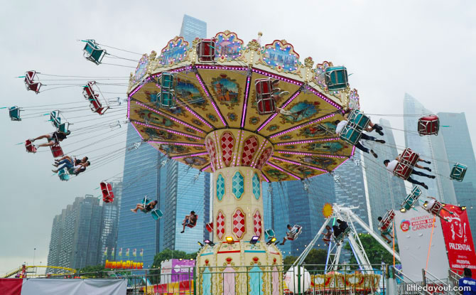 prudential marina bay carnival is back till march 2019 with new rides monthly themes and