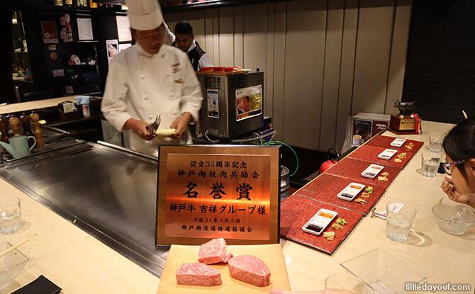 Meal in Kobe