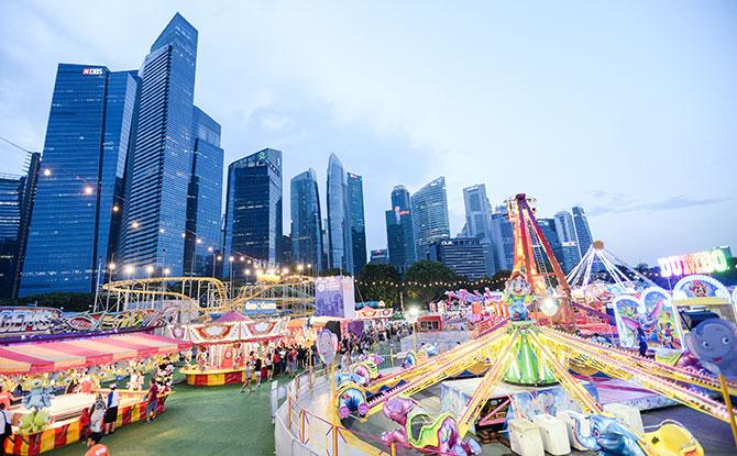 Make Epic Memories at Prudential Marina Bay Carnival
