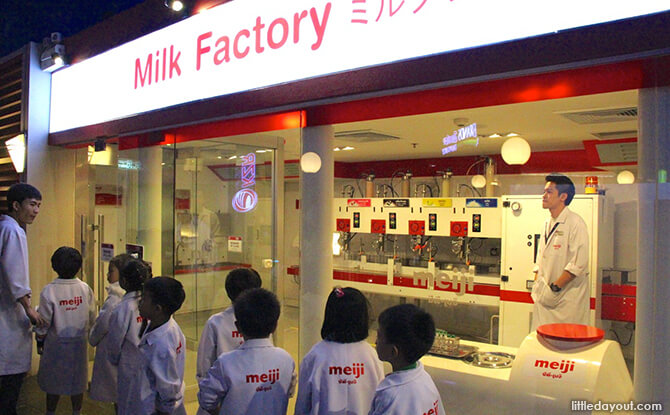 KidZania Bangkok - Milk Factory