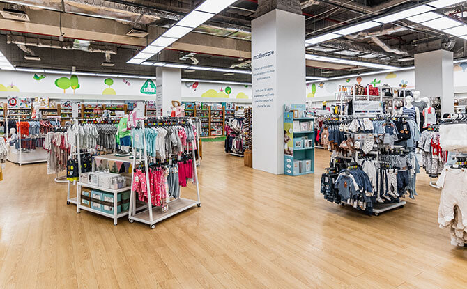 Visiting the Mothercare Experience Store