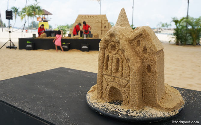 Sentosa Sandsation: MARVEL Edition - Sand Sculpting Workshops