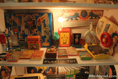 Shelf Plastic Toys