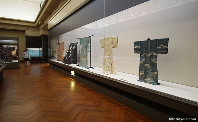 Inside the Tokyo National Museum