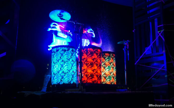 Nightly Entertainment by the GOs at Club Med Bali with Kids