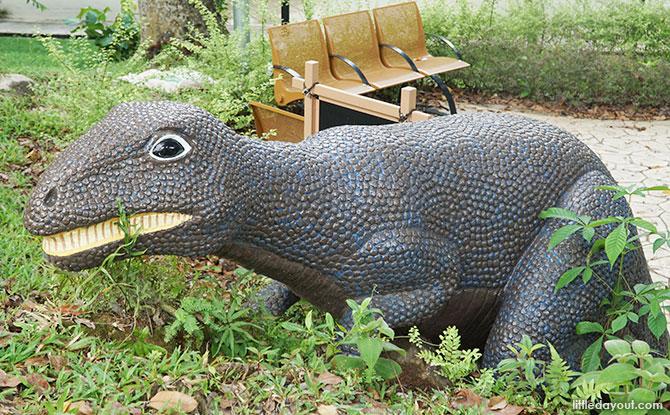 Dinosaur playground in Woodlands