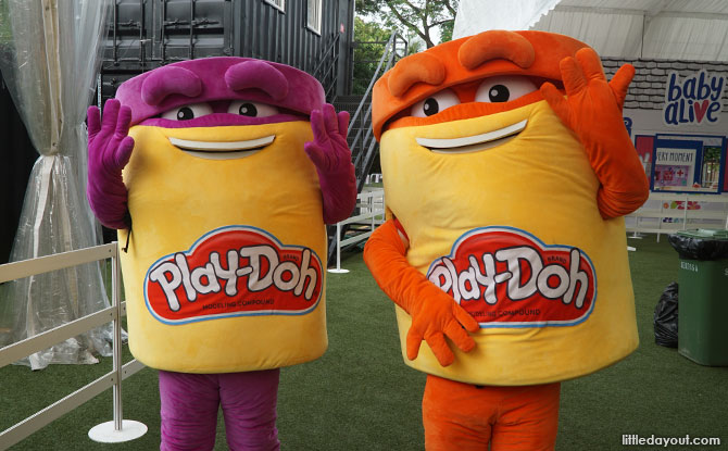 Play-Doh mascots