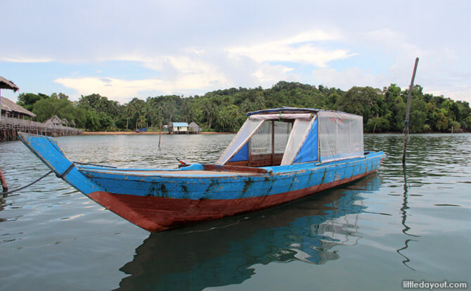 Blue Mountain Kelong Motorised Sampan