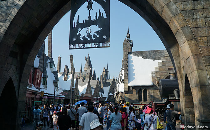 Universal Studios Japan, The Wizarding World of Harry Potter