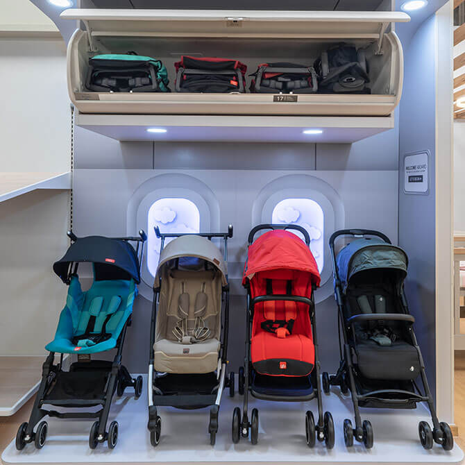 Airplane Cabin Approved Strollers