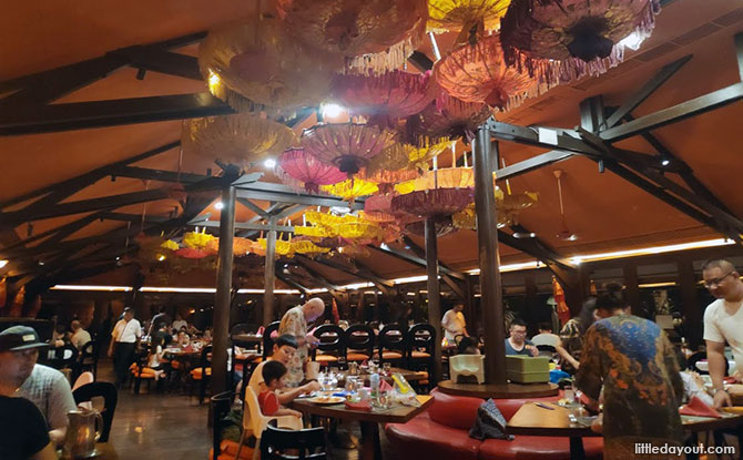 International Buffet, Fine-dining, Bar options at Club Med Bali