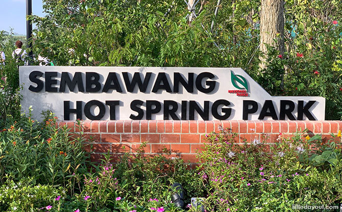 Entrance to Sembawang Hot Spring Park