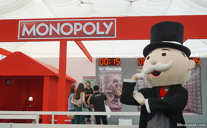 Mr Monopoly, Toybox Sentosa