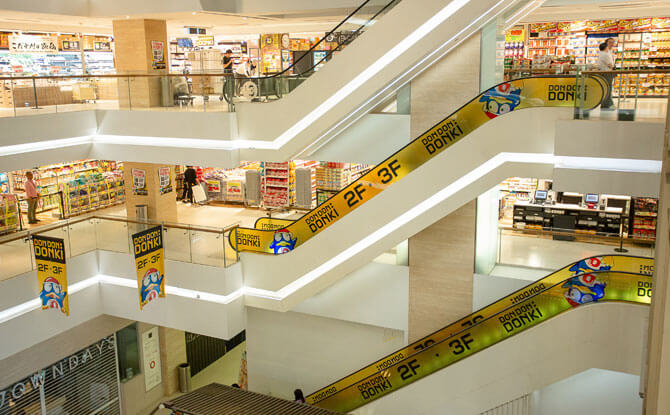 Two Floors of Shopping at Don Don Donki Tanjong Pagar