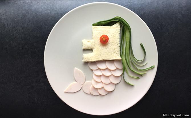 Merlion Deconstructed Sandwich
