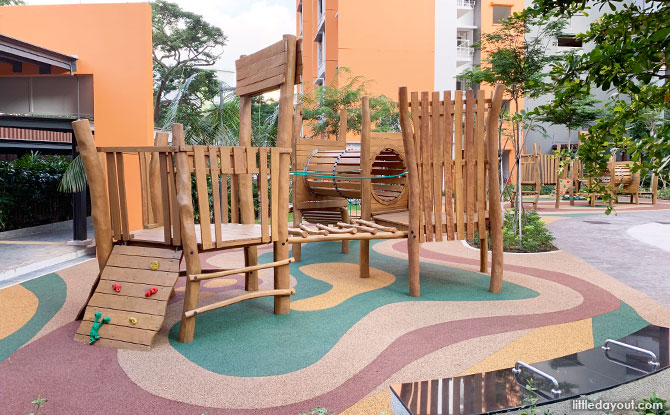 Clementi Crest Playground: Adventure Treehouse