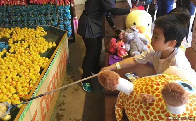 Carnival Stalls at Sunway Lost World of Tambun, Ipoh