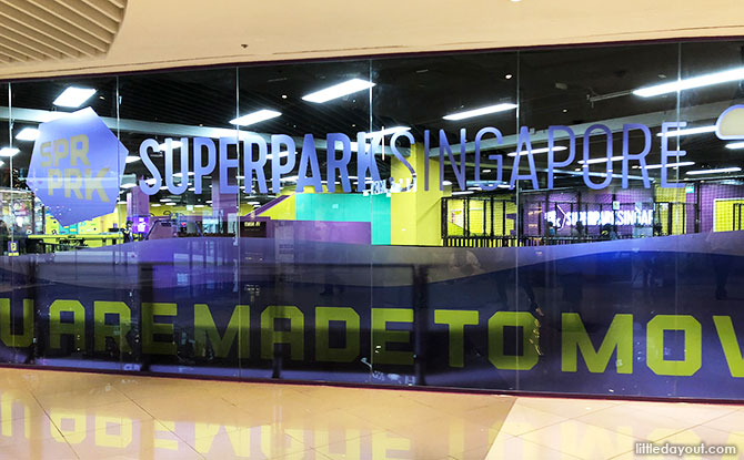 SuperPark Singapore, Suntec City Mall