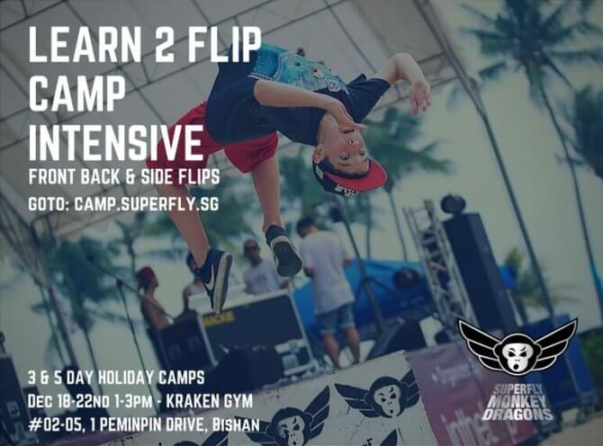 Superfly Learn 2Flip Kids Camp