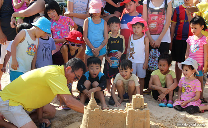 Little Day Outings: Amazing Sandcastles Family Workshop
