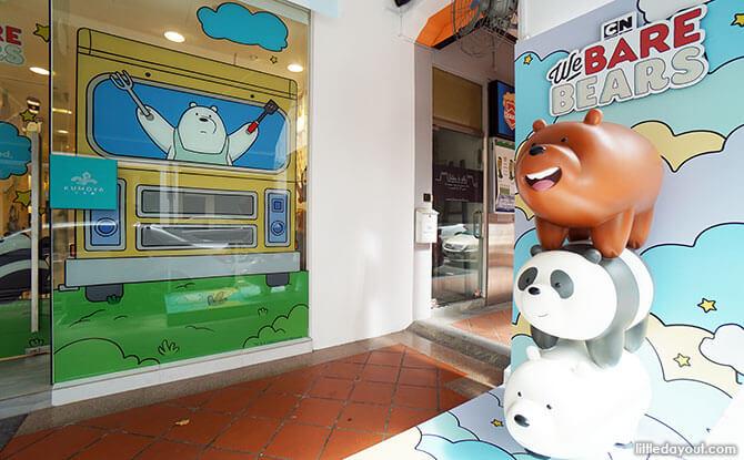 Kumoya We Bare Bears Cafe Singapore