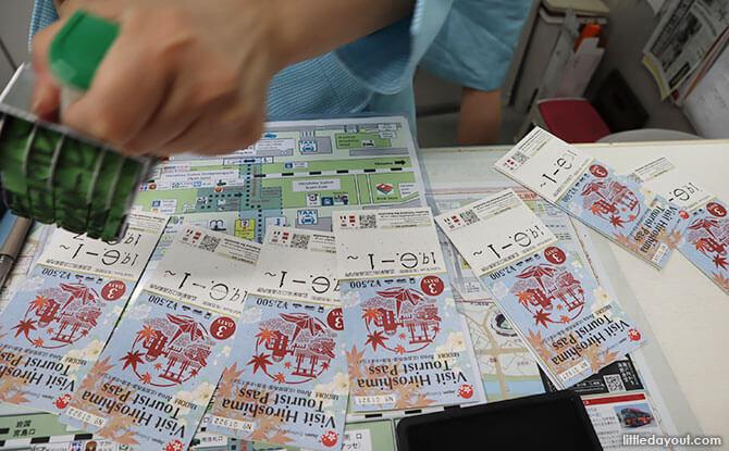 Visit Hiroshima Pass