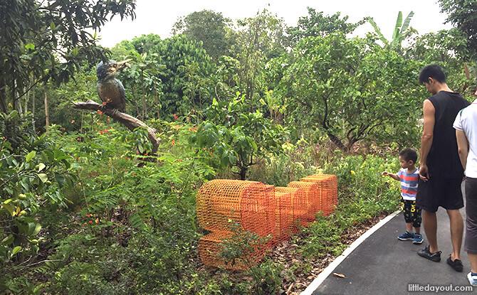 Stream Zone at Jacob Ballas Children's Garden New Extension