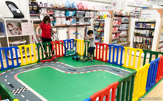 Play Area at Mothercare Experience Store
