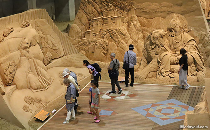 visit to the Sand Museum