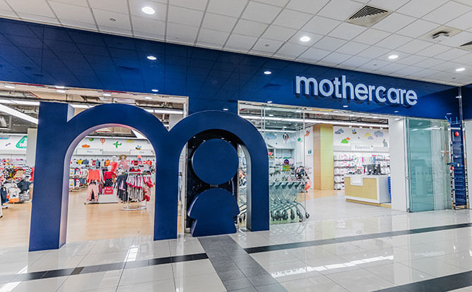Mothercare Experience Store at HarbourFront Centre