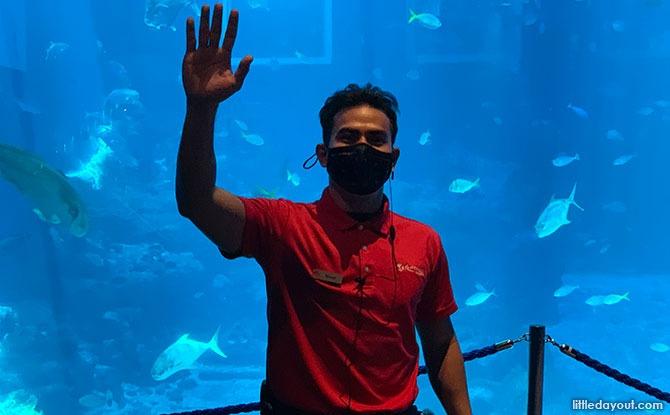 Resorts World Sentosa's Safe Distancing Ambassadors