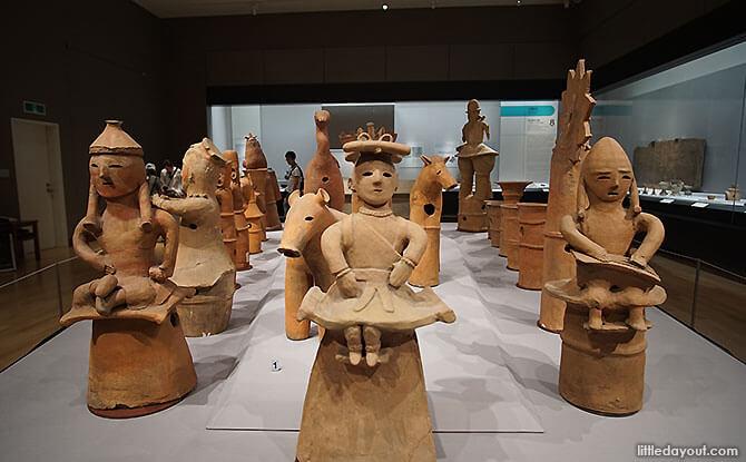 Exhibits at the Heiseikan