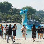 Pokémon GO Safari Zone At Sentosa: Sightings Of A 6-Metre Tall Lapras, Pikachu & Rare Pokémon