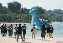 Pokémon GO Safari Zone At Sentosa: Sightings Of A 6-Metre Tall Lapras, Pikachu & Rare Pokémon