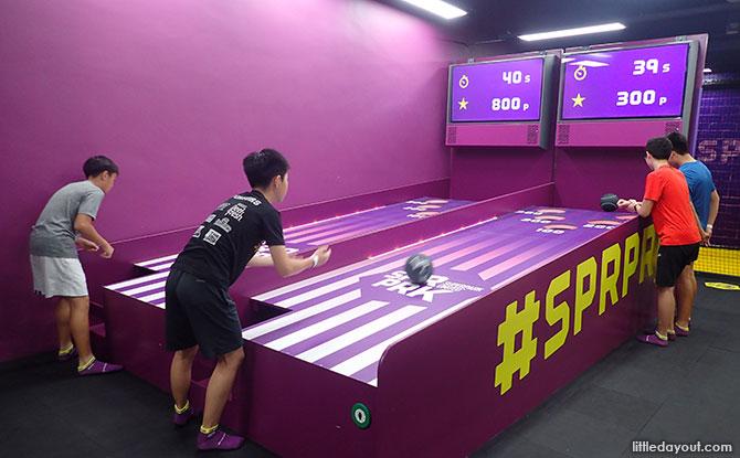 Bowling at SuperPark Singapore