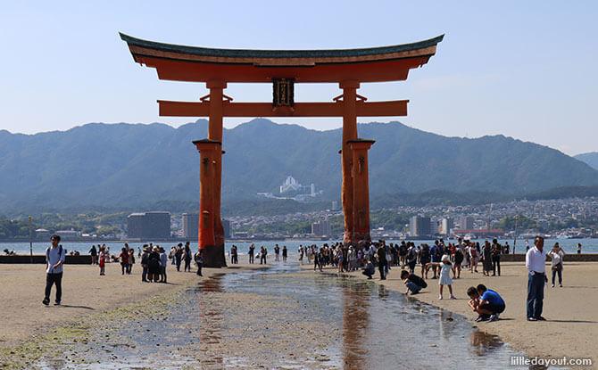 Miyajima Island Torii Gate