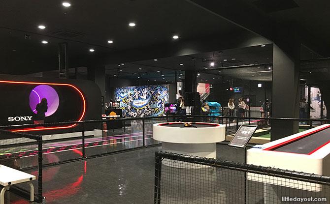 BANDAI NAMCO indoor amusement centre