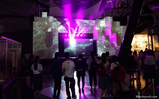 Main stage at Joypolis