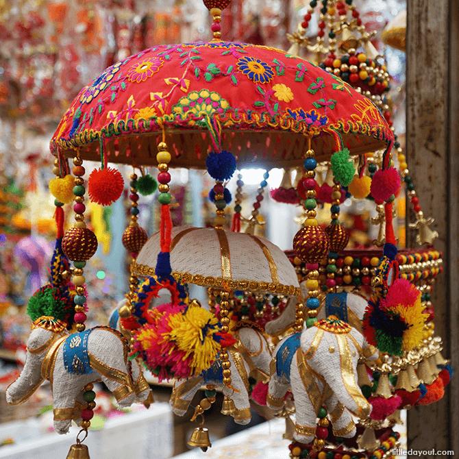 Festive decorations.