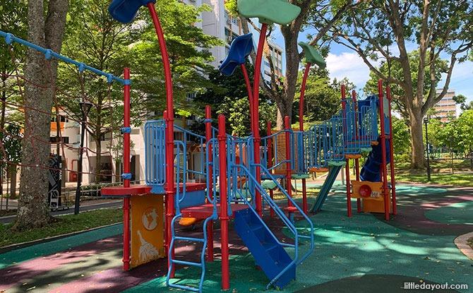 More Play Areas at the Yishun N8 Park