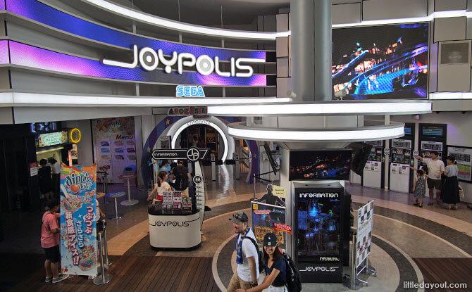 Joypolis at Odaiba, Decks Shopping Mall