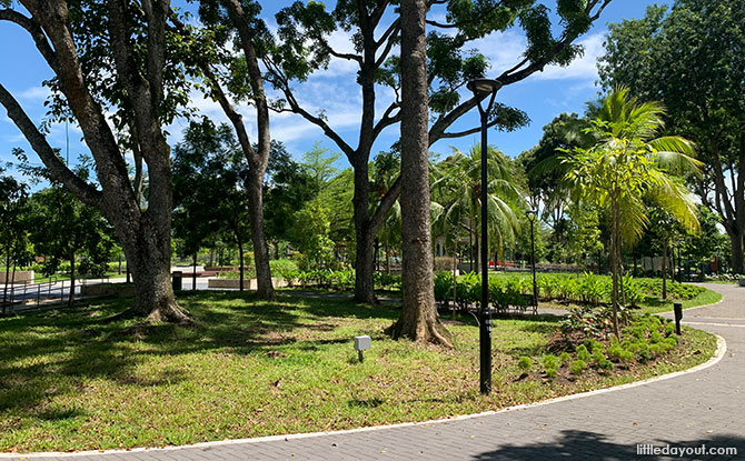 Facilities at Yishun Neighbourhood 8 Park