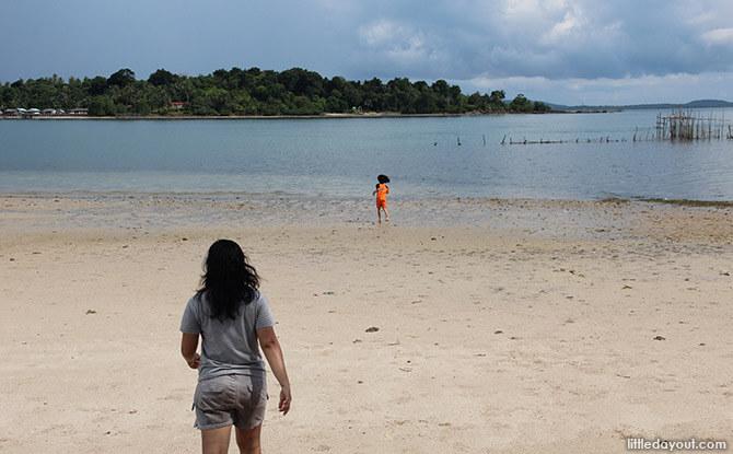 Tunjuk Island Beach