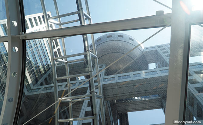 Fuji TV Building Observation Deck, Odaiba: The View From The Big Sphere